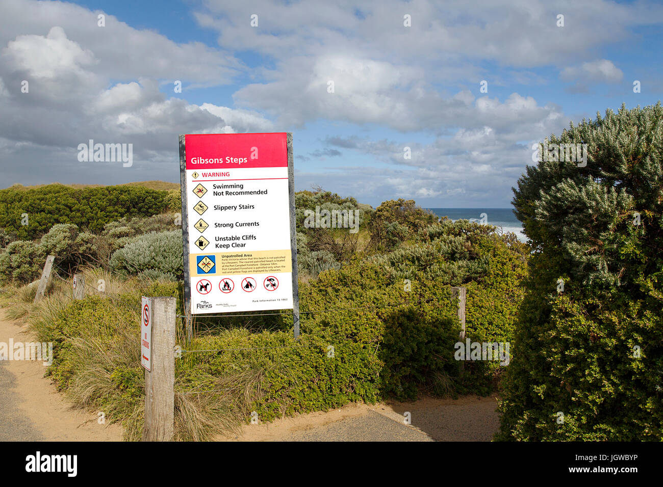 Port Campbell National Park Photo Stock