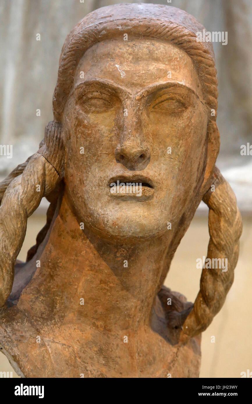 Antoine Bourdelle museum, Paris. Victoire (étude pour le monument au général Alvear), 1914. Le plâtre. Photo Stock