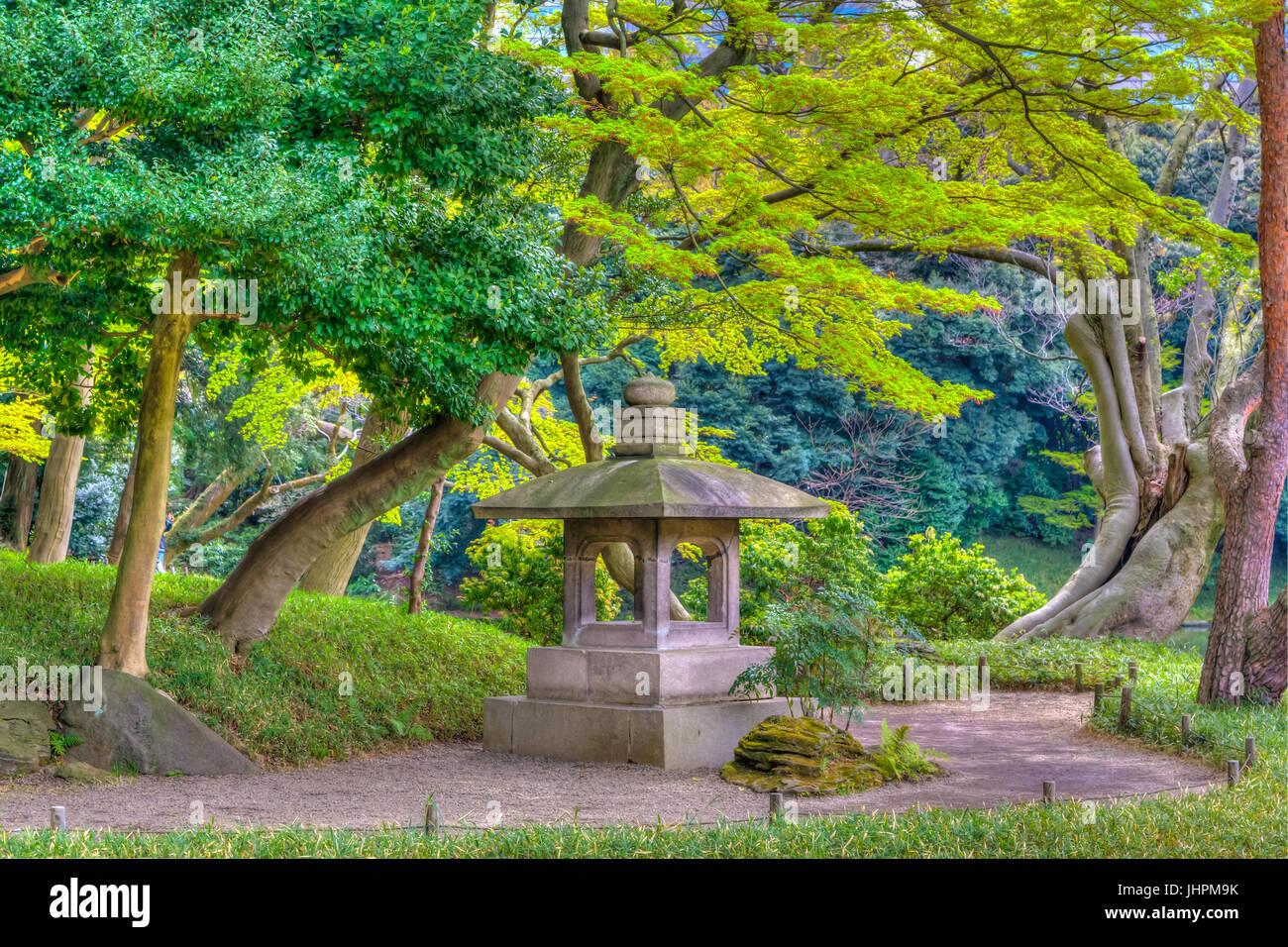 Le Jardin Koishikawa Kōrakuen Jardins en Bunkyo, Tokyo, Japon. Photo Stock