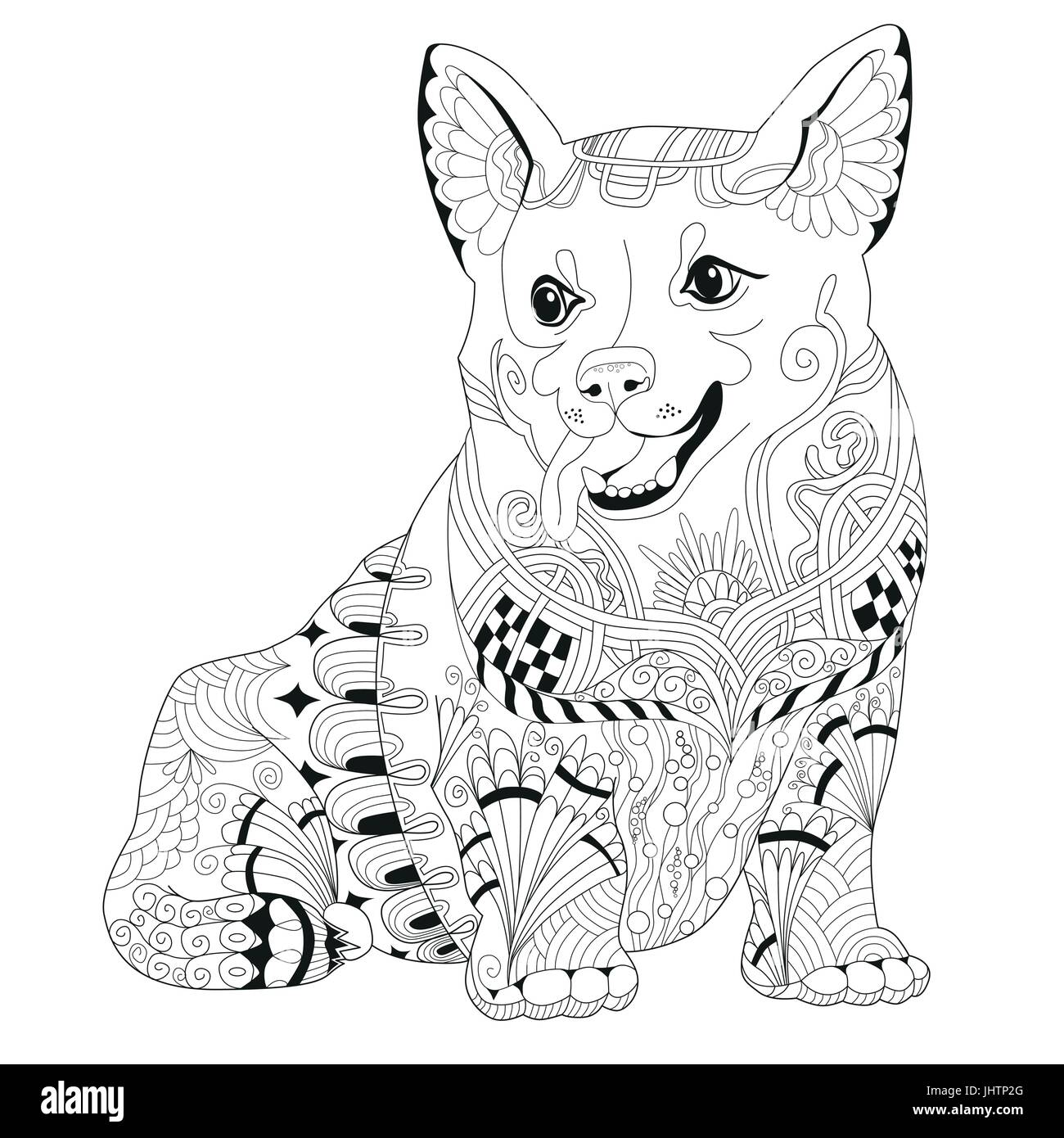 Coloriage Chien Springer.Dog Breed Book Photos Dog Breed Book Images Alamy