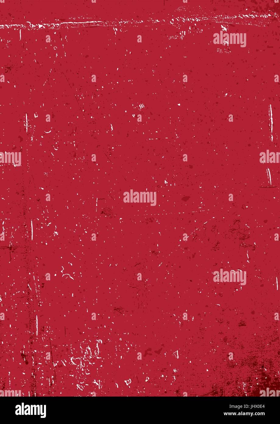 Grunge Fond Rouge Vide De Papier Rouge Arrière Plan Vertical