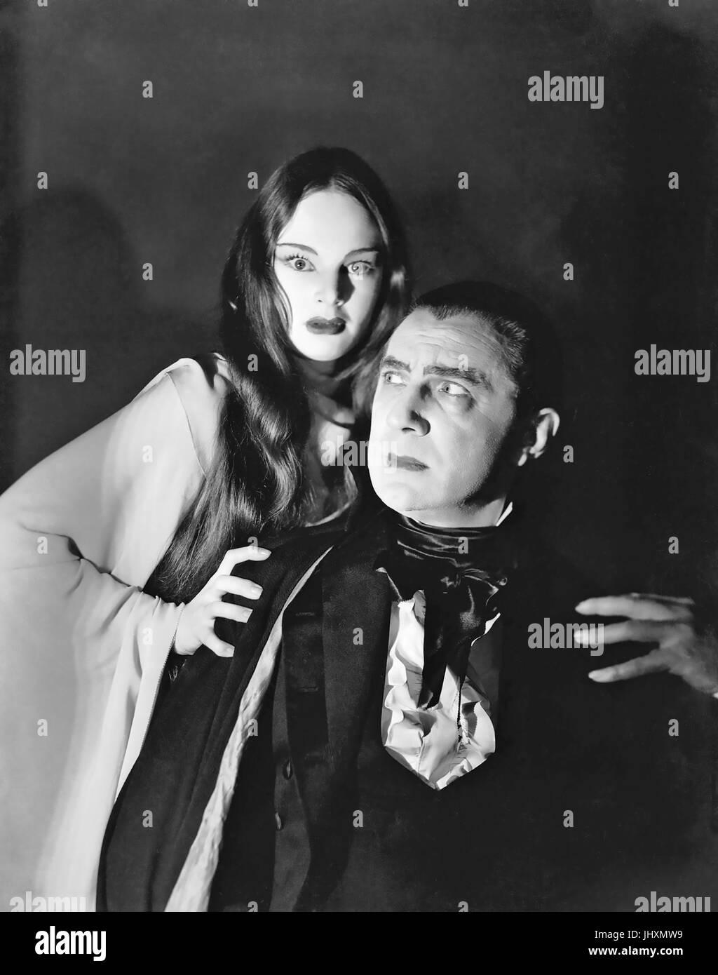 MARK OF THE VAMPIRE (aka Vampires de Prague) 1935 MGM film avec Elizabeth Allen et Bella Lugosi Banque D'Images