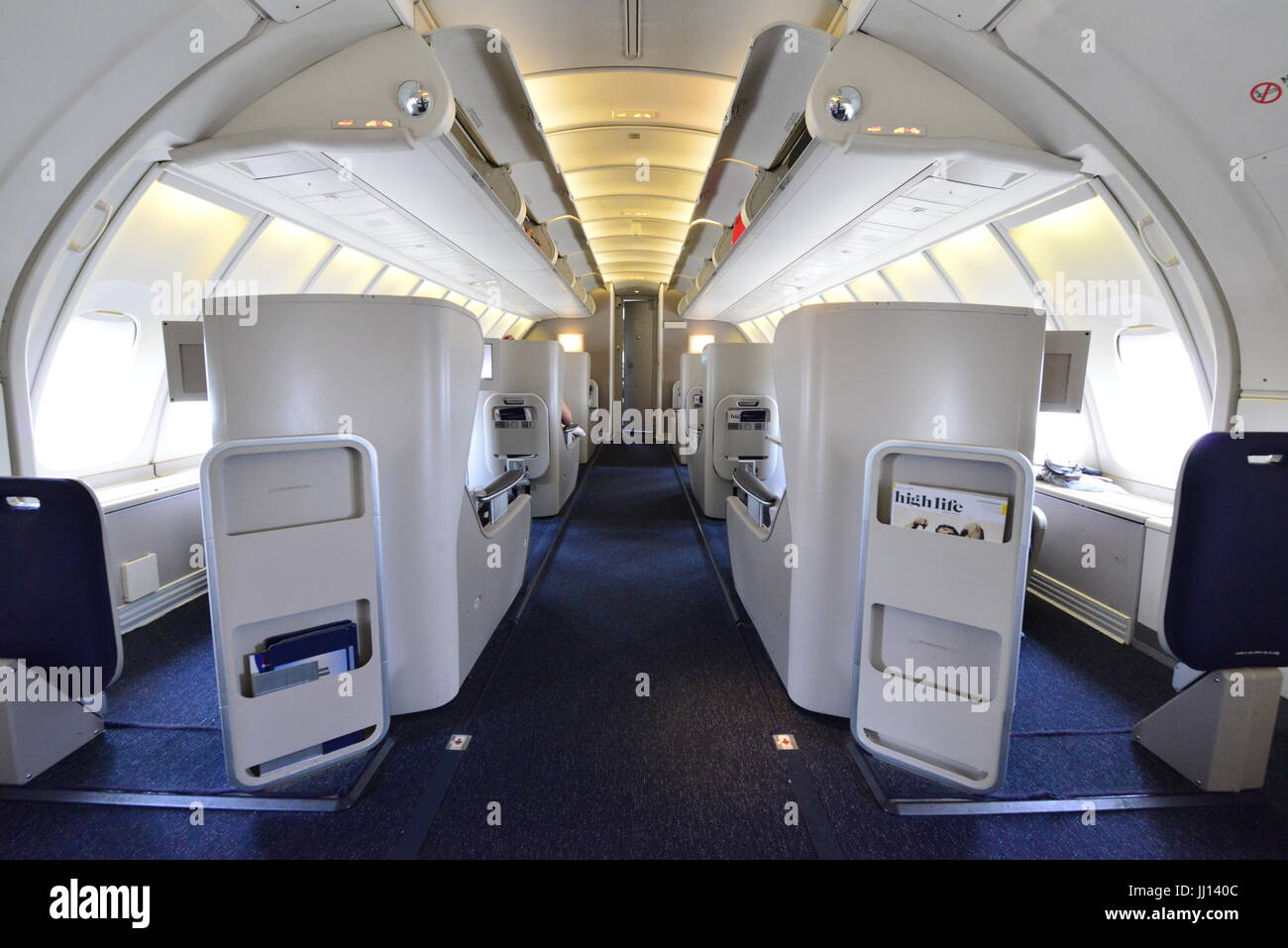 lintrieur de la sphre dun boeing 747 400