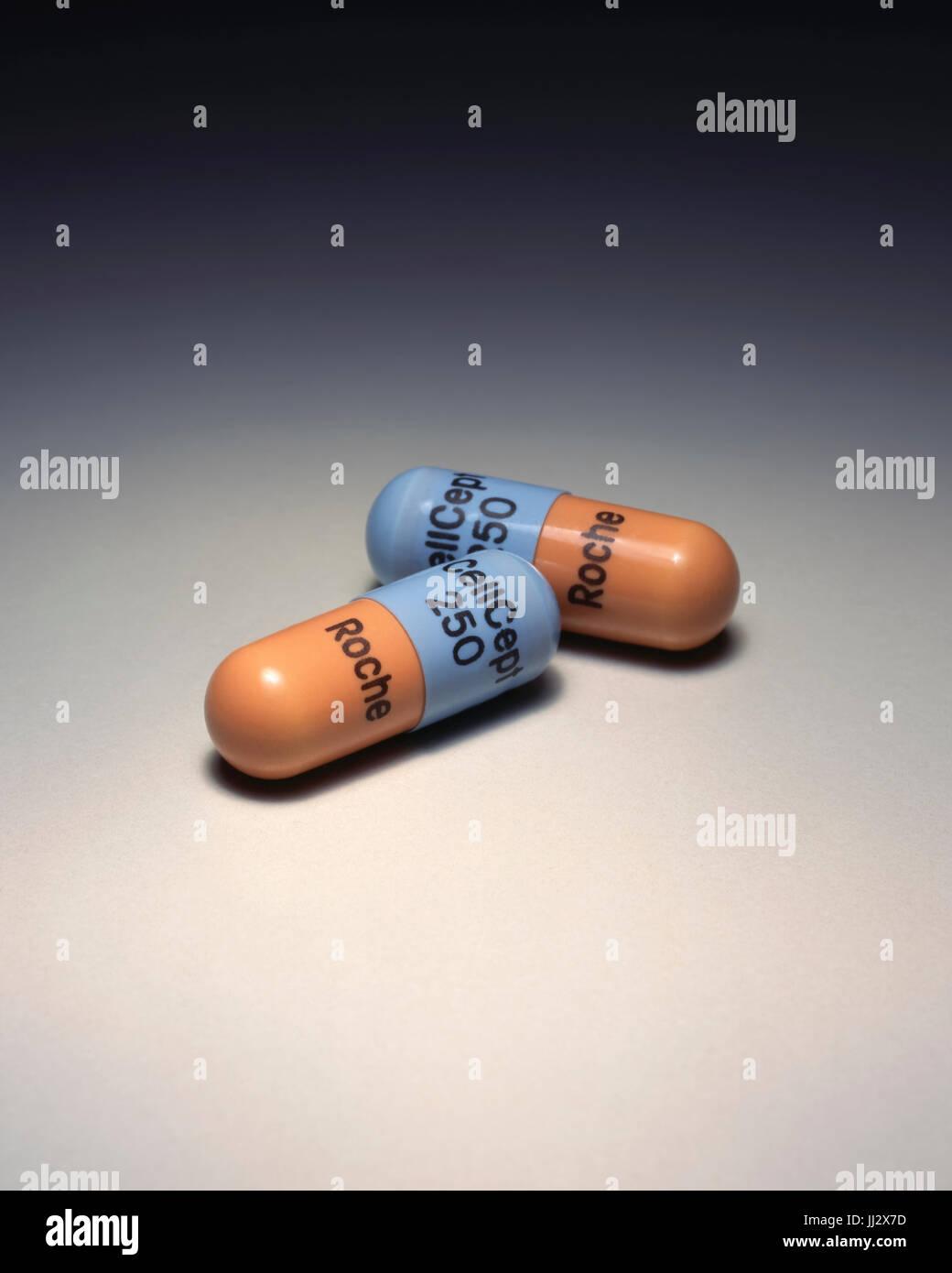 Prescription Drug CellCept Photo Stock