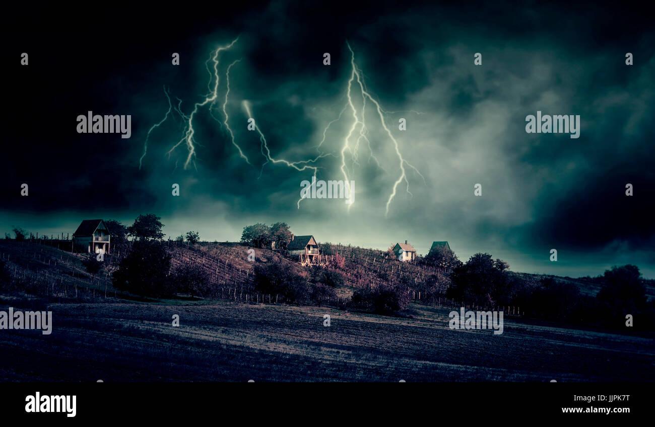 Cas d'orage Banque D'Images