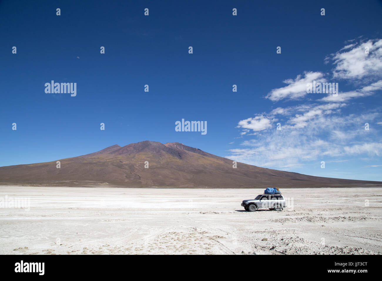 Salar de Uyuni en Bolivie Photo Stock