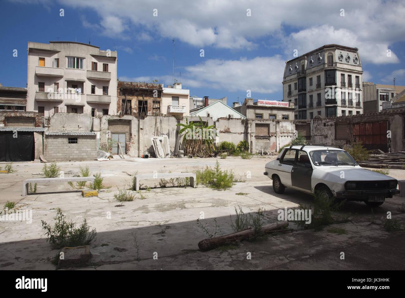 L'Uruguay, Montevideo, quartier port détail Photo Stock
