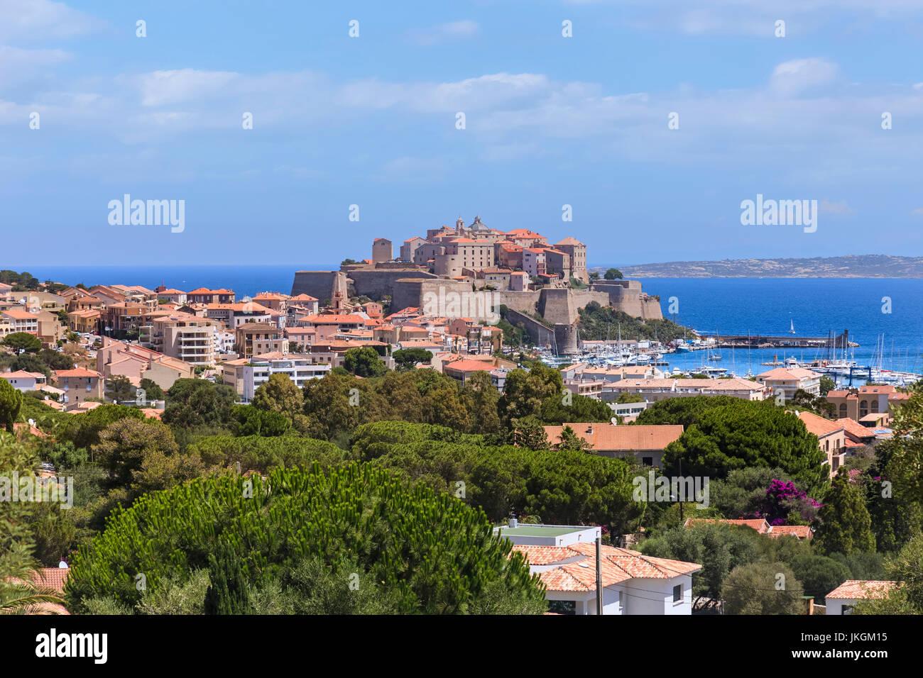 Calvi, Corse, France Photo Stock