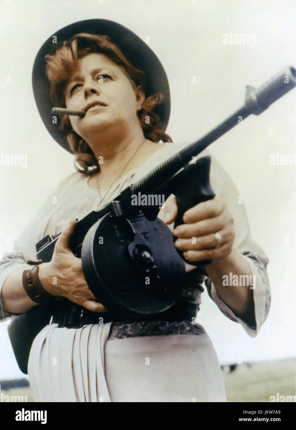 BLOODY MAMA 1970 AIP film avec Shelley Winters Photo Stock