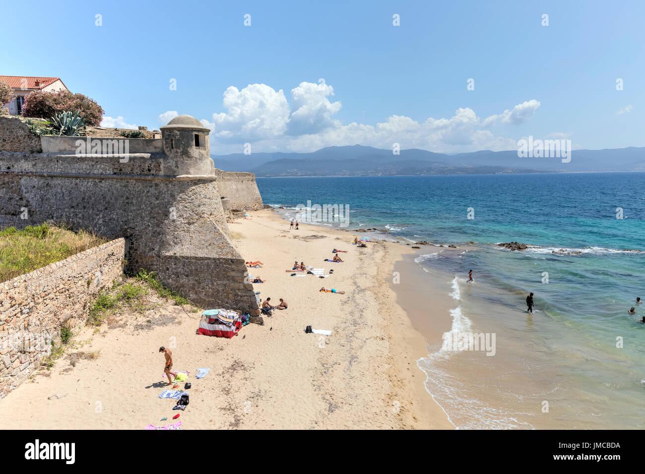 Ajaccio, Corse, France Banque D'Images