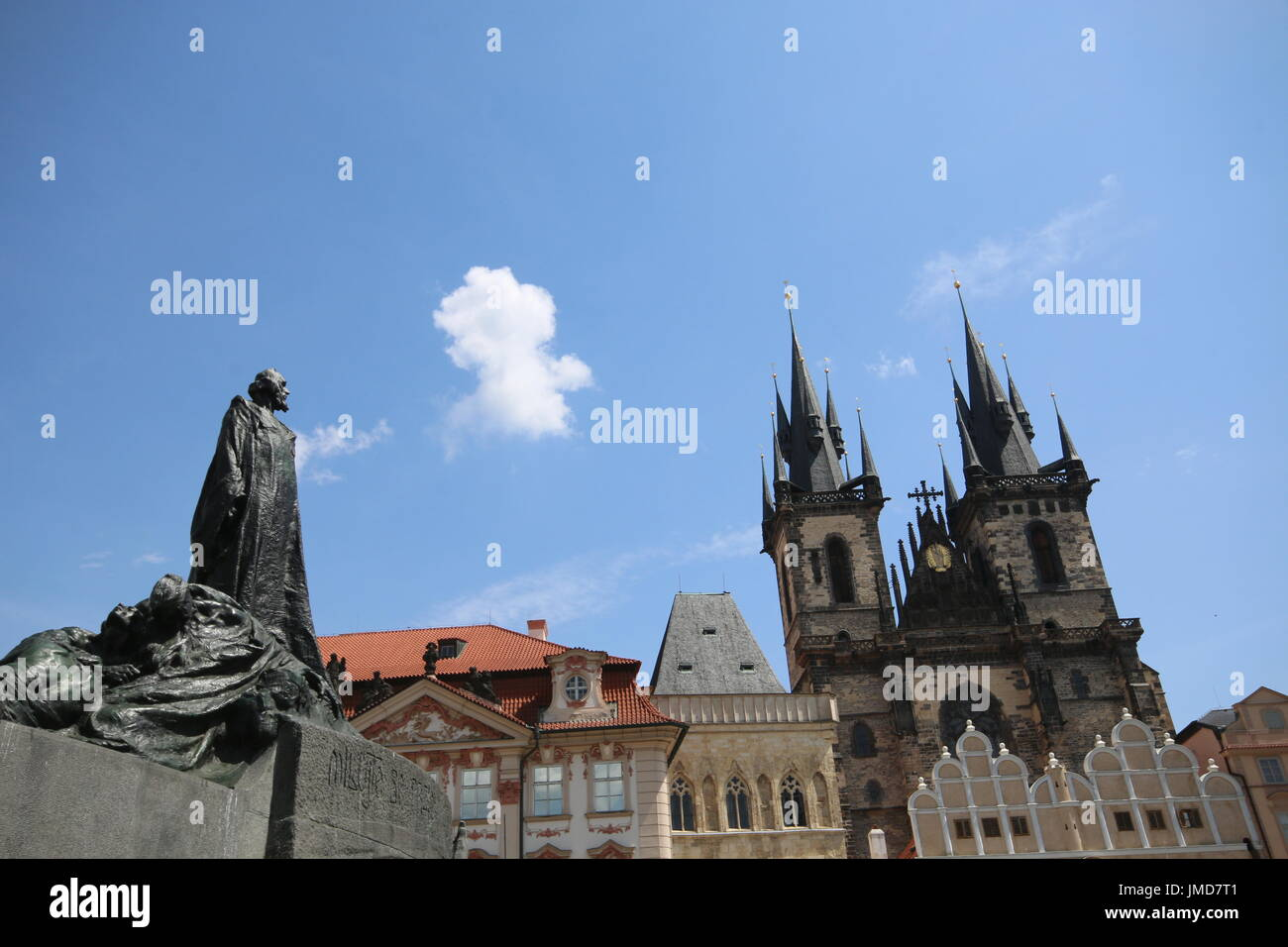 Place de Prague Photo Stock