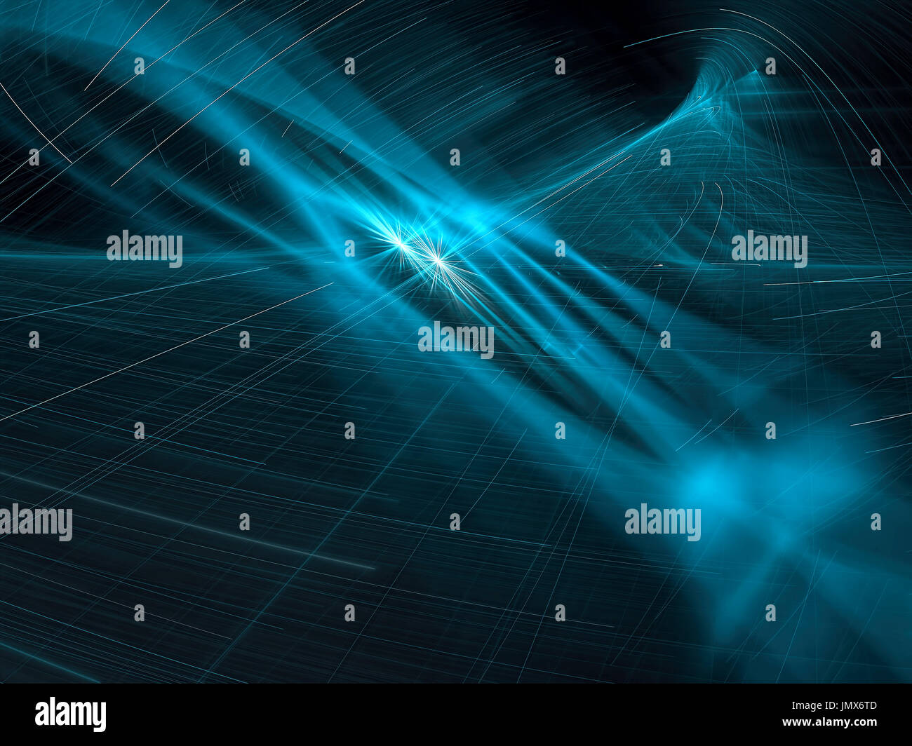 Abstract background style technologie numérique - image générée Banque D'Images