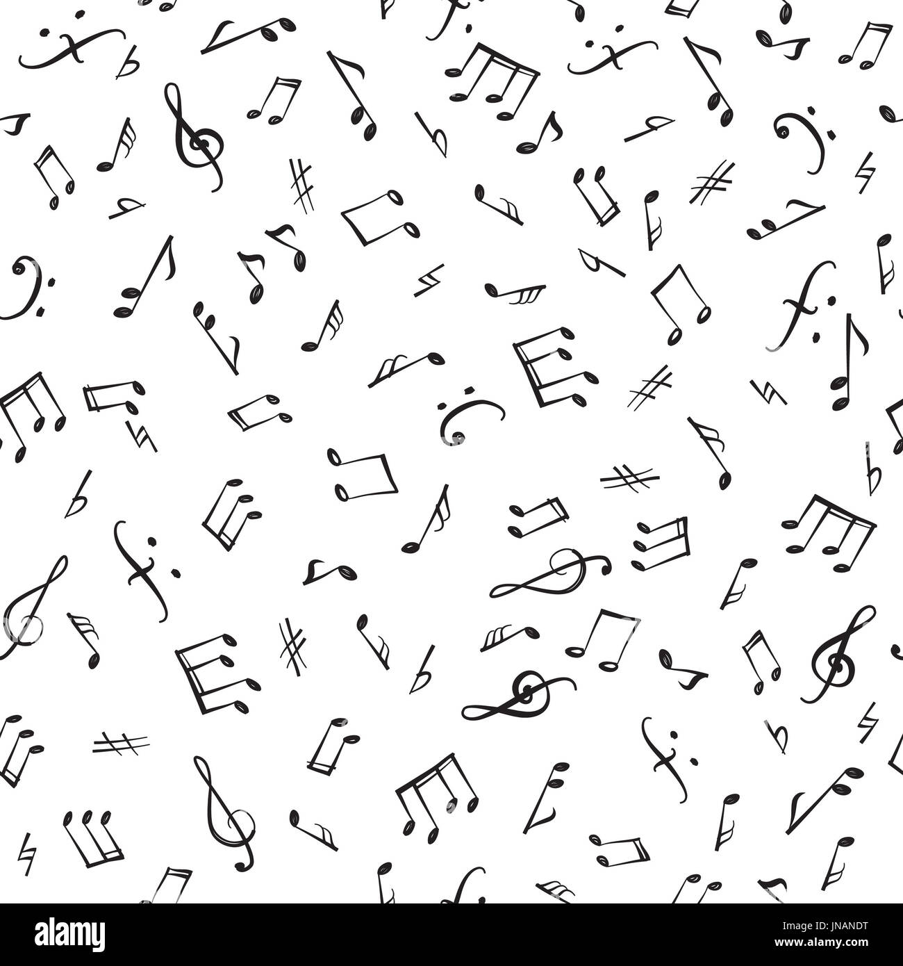 abstract music notes seamless pattern photos abstract music notes seamless pattern images alamy. Black Bedroom Furniture Sets. Home Design Ideas
