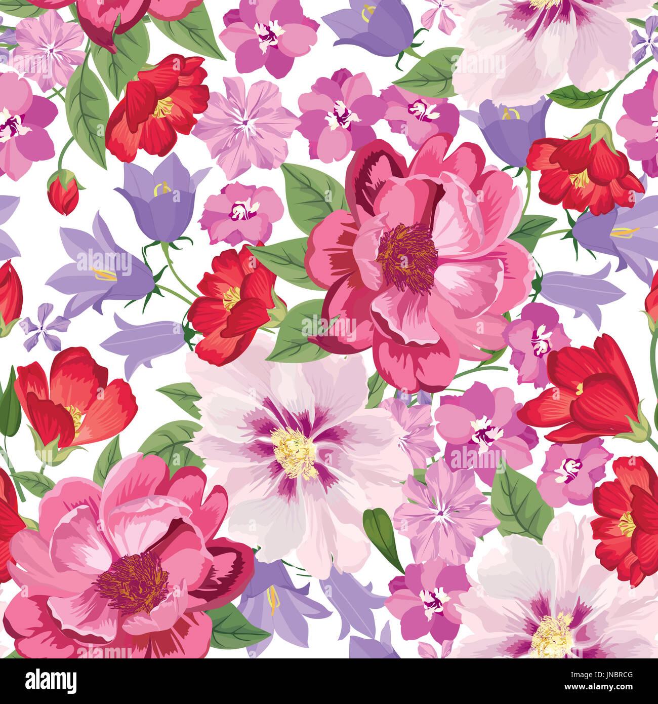 Motif floral fleur fond transparent.. Carreaux floral