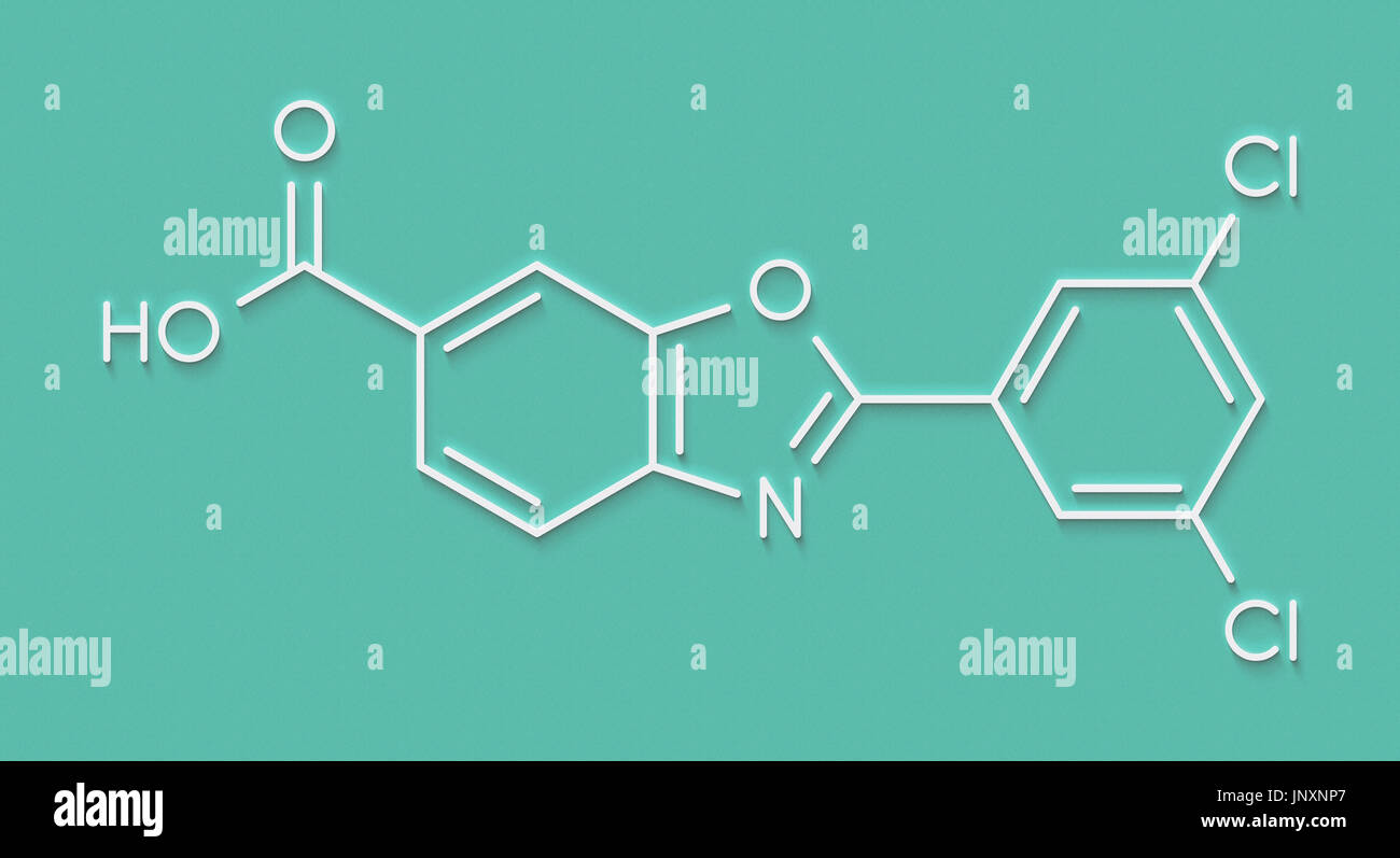 Tafamidis polyneuropathie amyloïde familiale (PAF) molécule ...