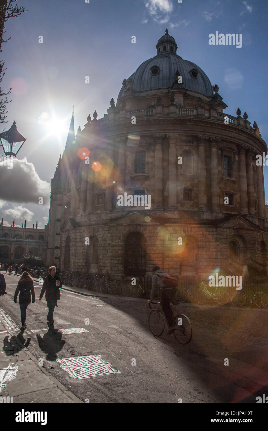 Radcliffe Camera, partie de la Bodleian Library, University, Oxford, Oxfordshire, Angleterre, Grande-Bretagne Photo Stock