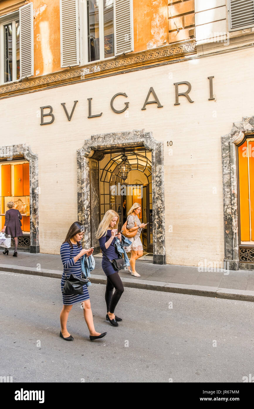 ca93ae48aa0 Bulgari Watch Store Photos   Bulgari Watch Store Images - Alamy