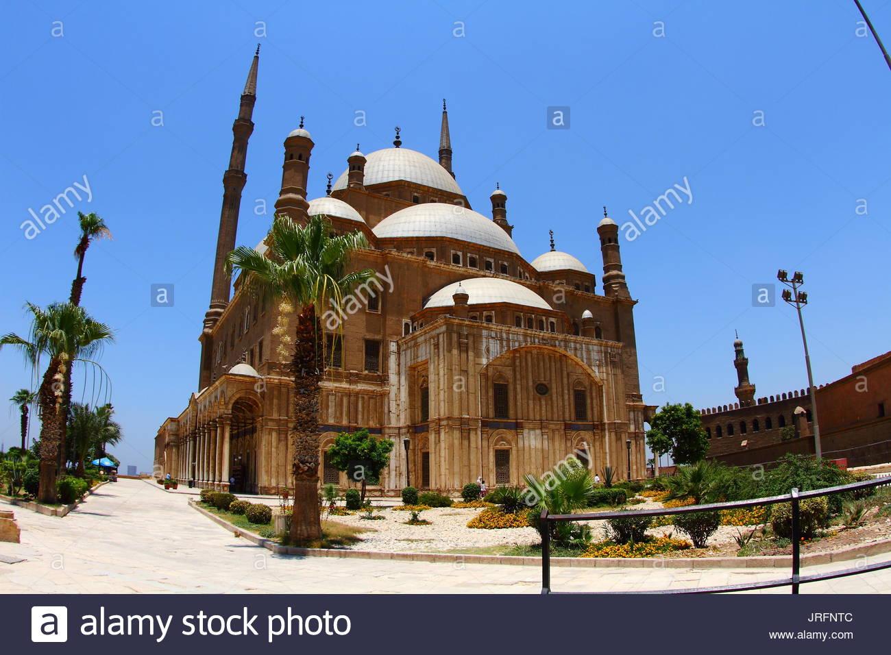 Égypte - Le Caire - La Citadelle - Mosquée Photo Stock