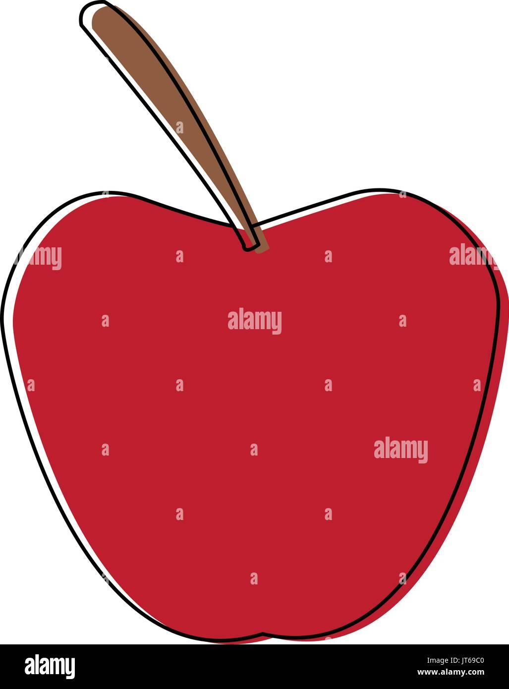 Pomme fruit nutritif frais aliments vitamines Photo Stock