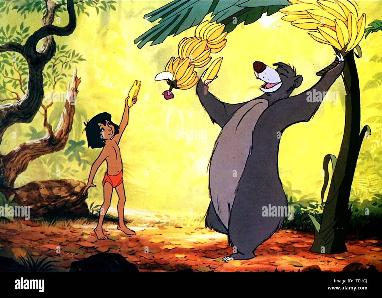 Mowgli Baloo L Ours Le Livre De La Jungle 1967 Banque D