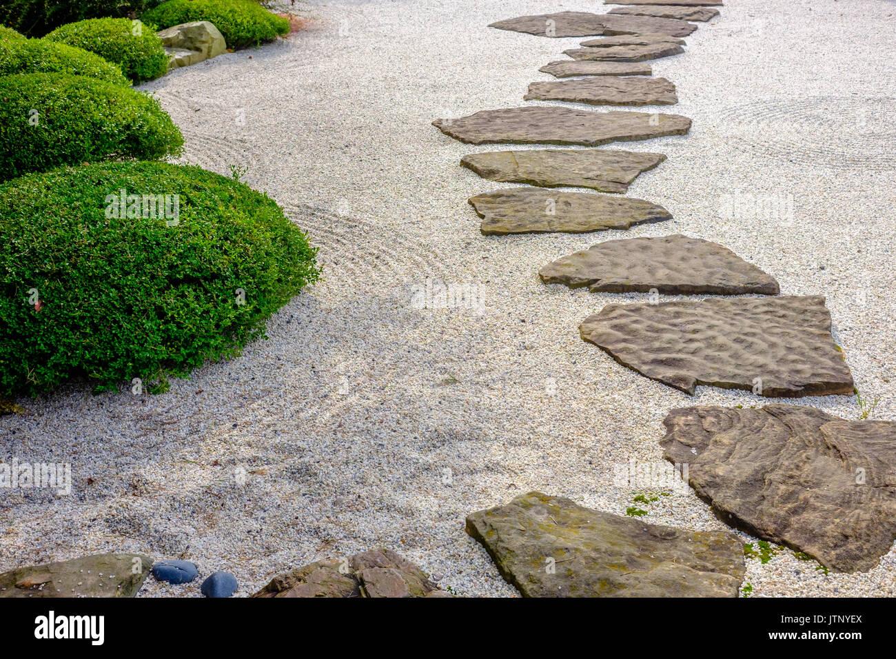 Chemin De Jardin Zen Banque D Images Photo Stock 152917266