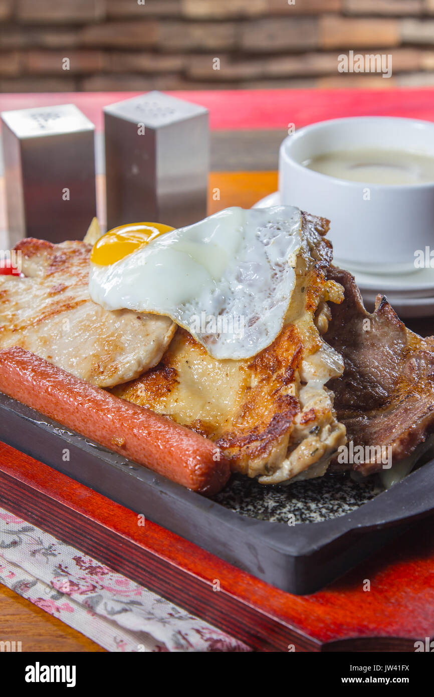 steak de boeuf Photo Stock
