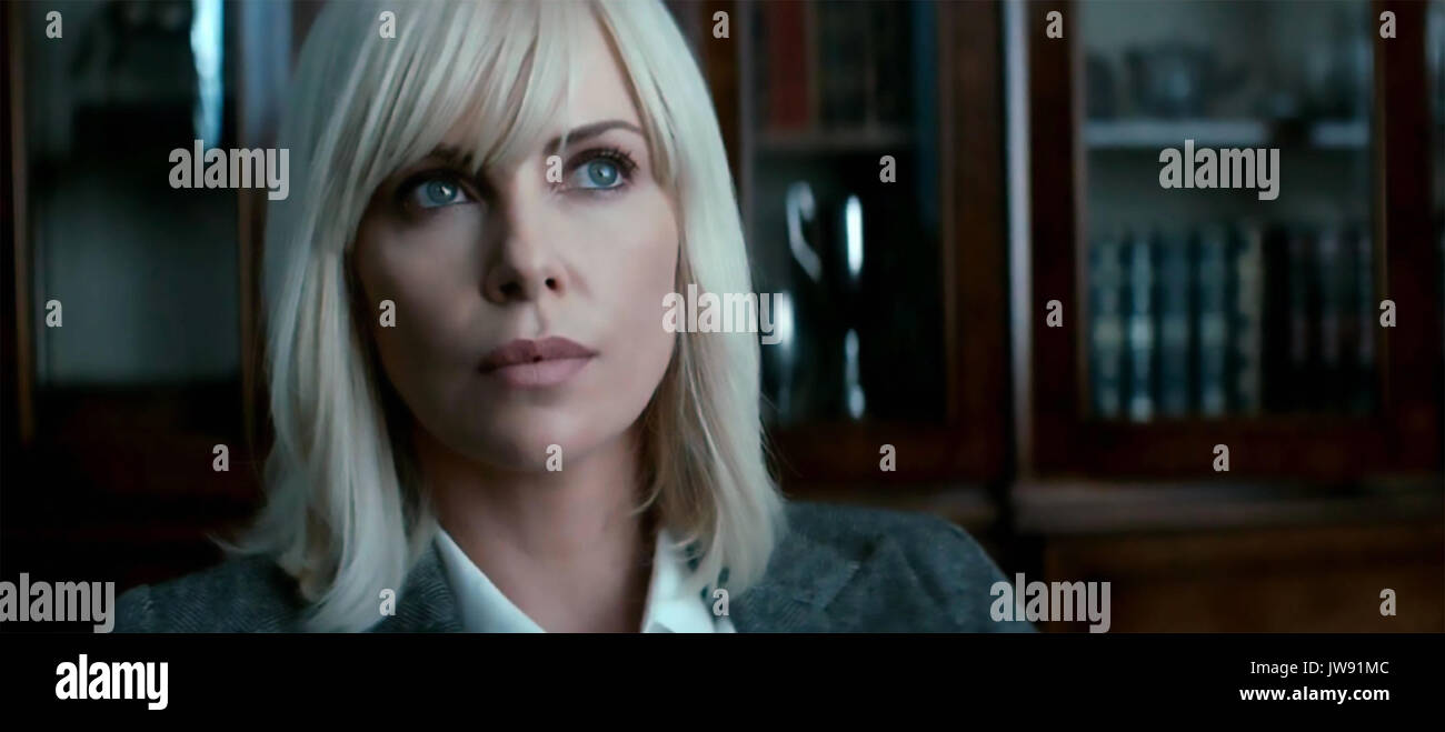 Blonde atomique 2017 Focus film avec Charlize Theron Photo Stock