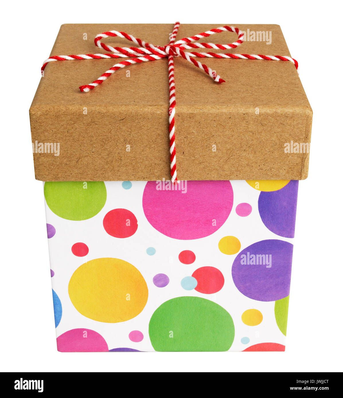 Cadeaux carrés Banque D'Images