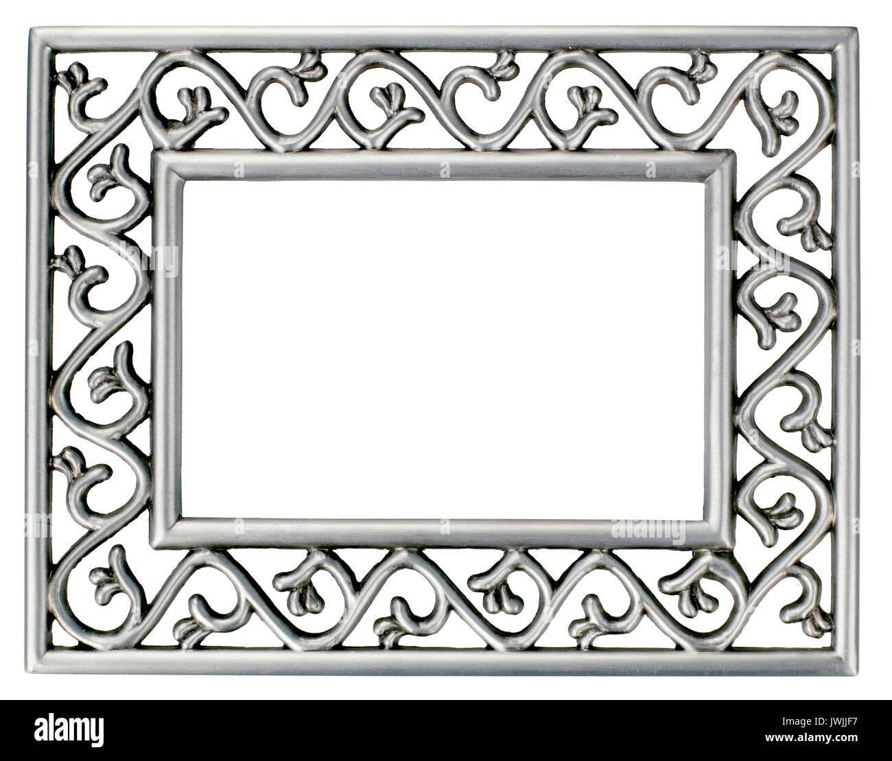 Cadre Photo en métal Banque D'Images