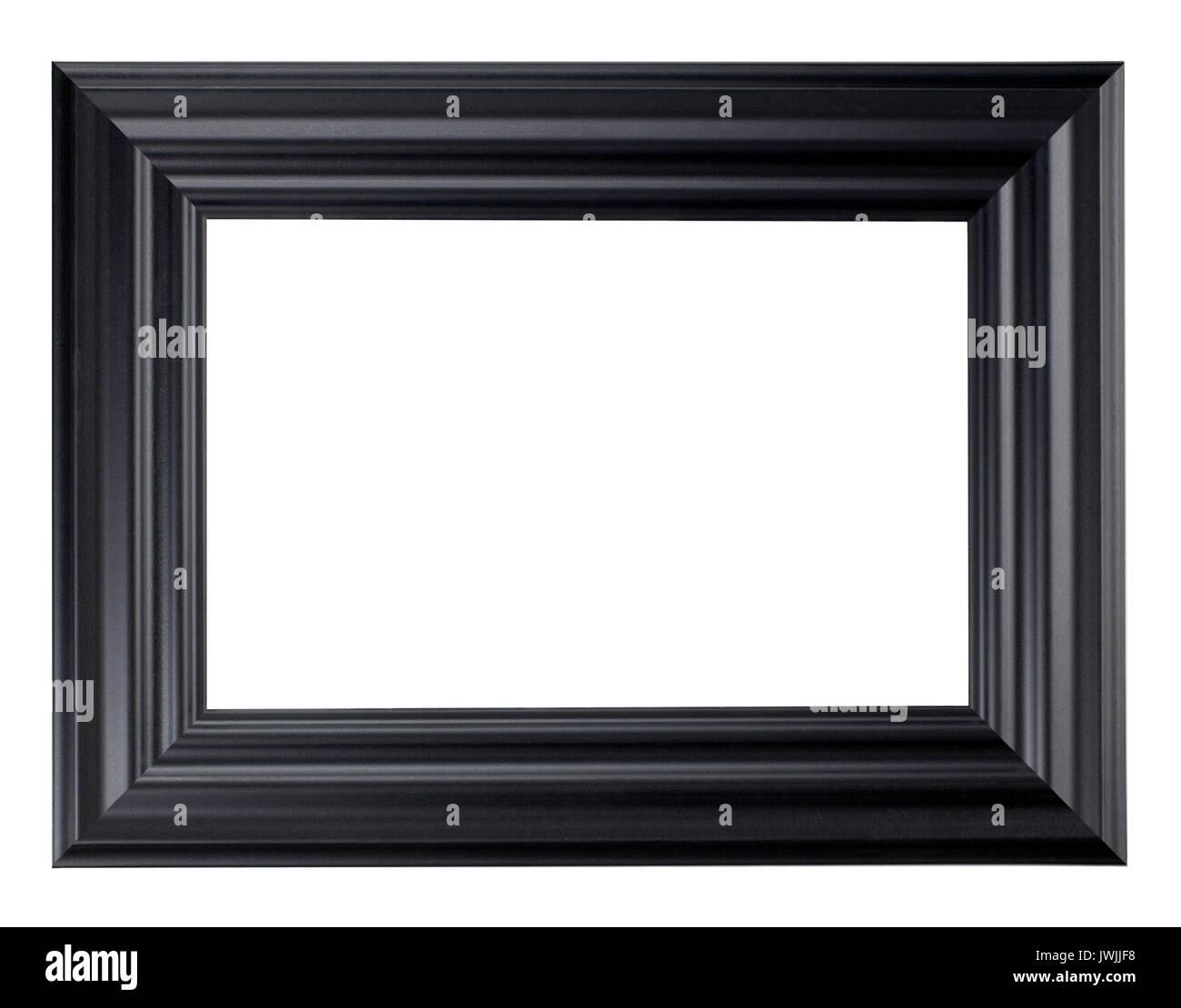 Cadre Photo en bois noir Banque D'Images