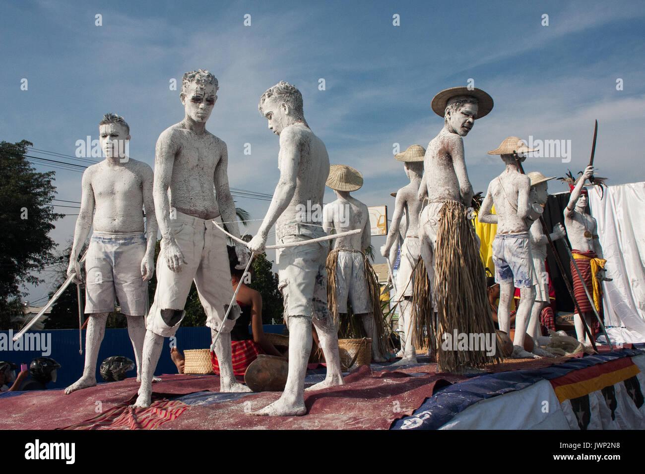 Dili, Timor oriental. Flotteur de carnaval Banque D'Images