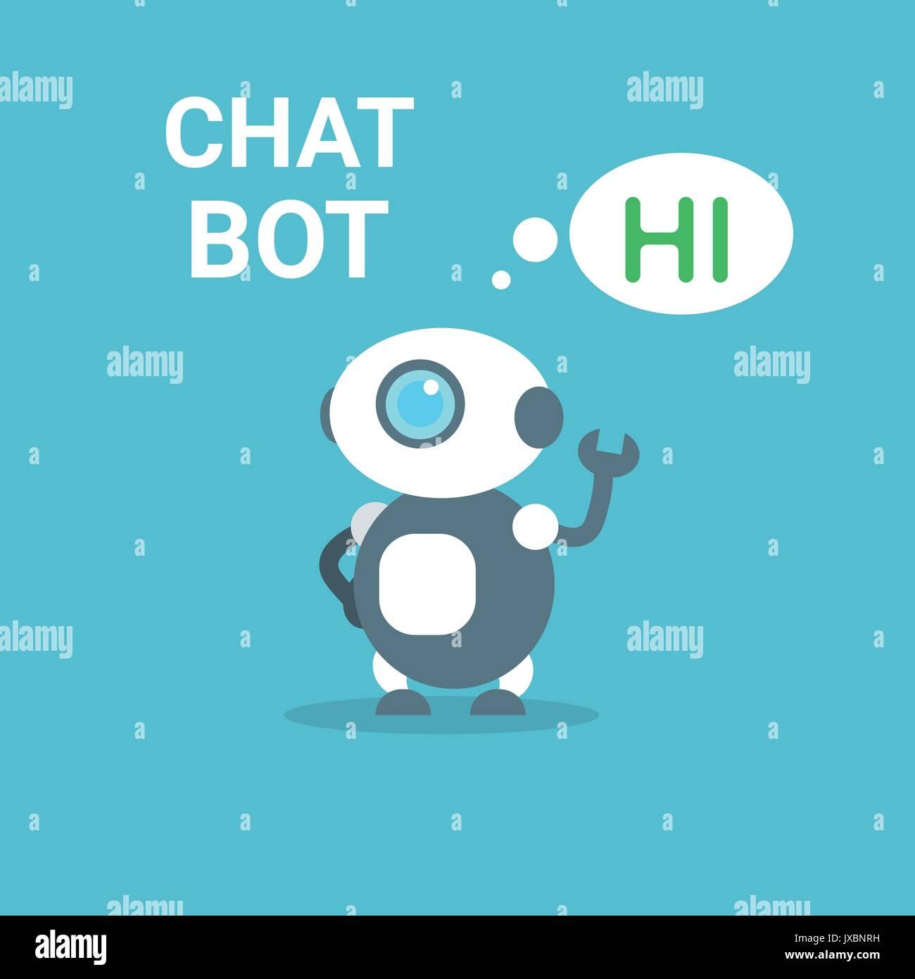 Robot moderne Free Chat Bot Concept Technologie d Intelligence Artificielle 458bcdf5dbaf
