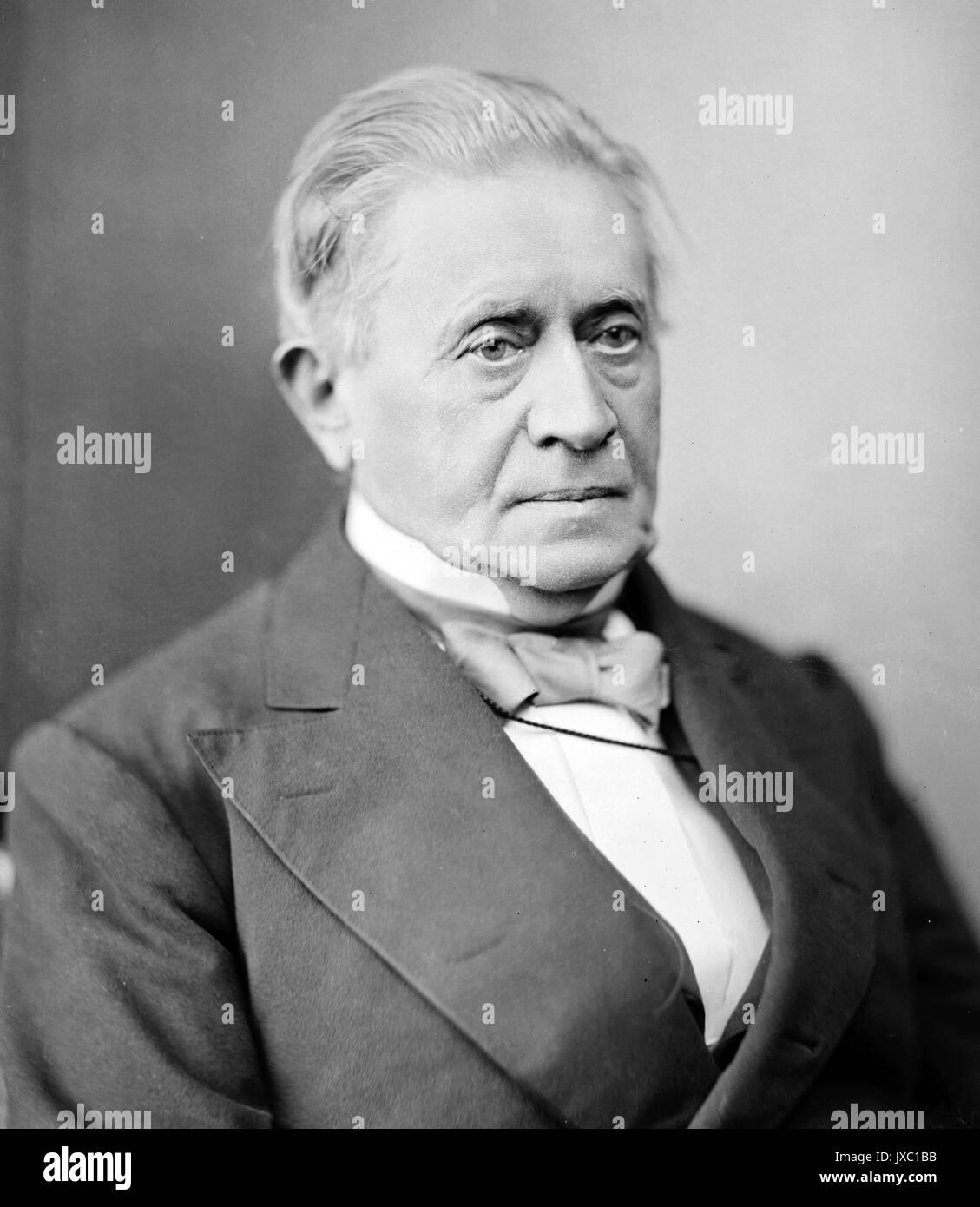 JOSEPH HENRY (1797-1878) scientifique américain et premier secrétaire de la Smithsonian Institution Banque D'Images