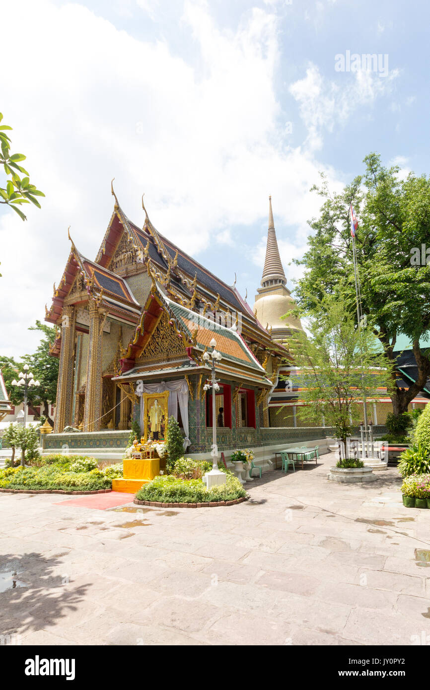 Wat Ratchapradit Sathitmahasimaram, Bangkok, Thaïlande Photo Stock
