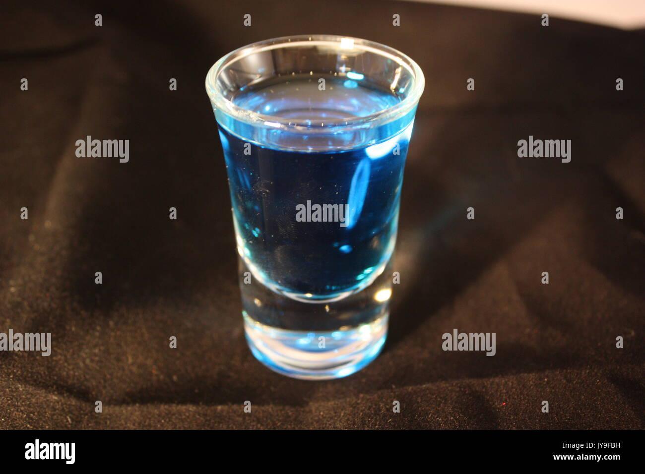 verre à Shot Banque D'Images