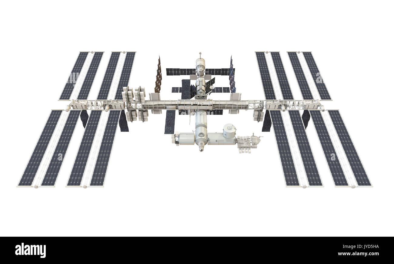 Isolé de la Station spatiale internationale Photo Stock