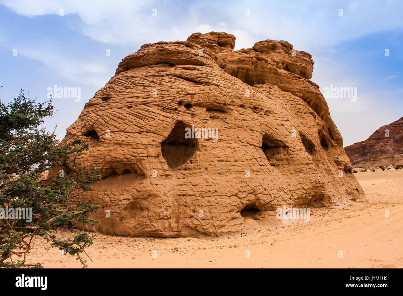 La pierre de la cathédrale, Riyadh Province Photo Stock
