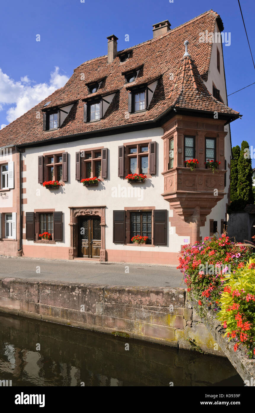 Ami Fritz house, wissembourg, france Photo Stock