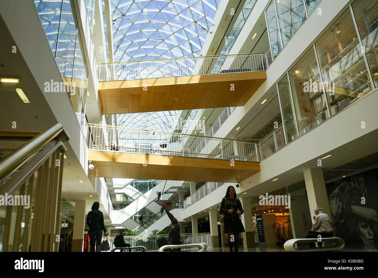 La Lituanie, Vilnius, la Gedimino 9 shopping mall, Gedimino 9 prospekta Banque D'Images