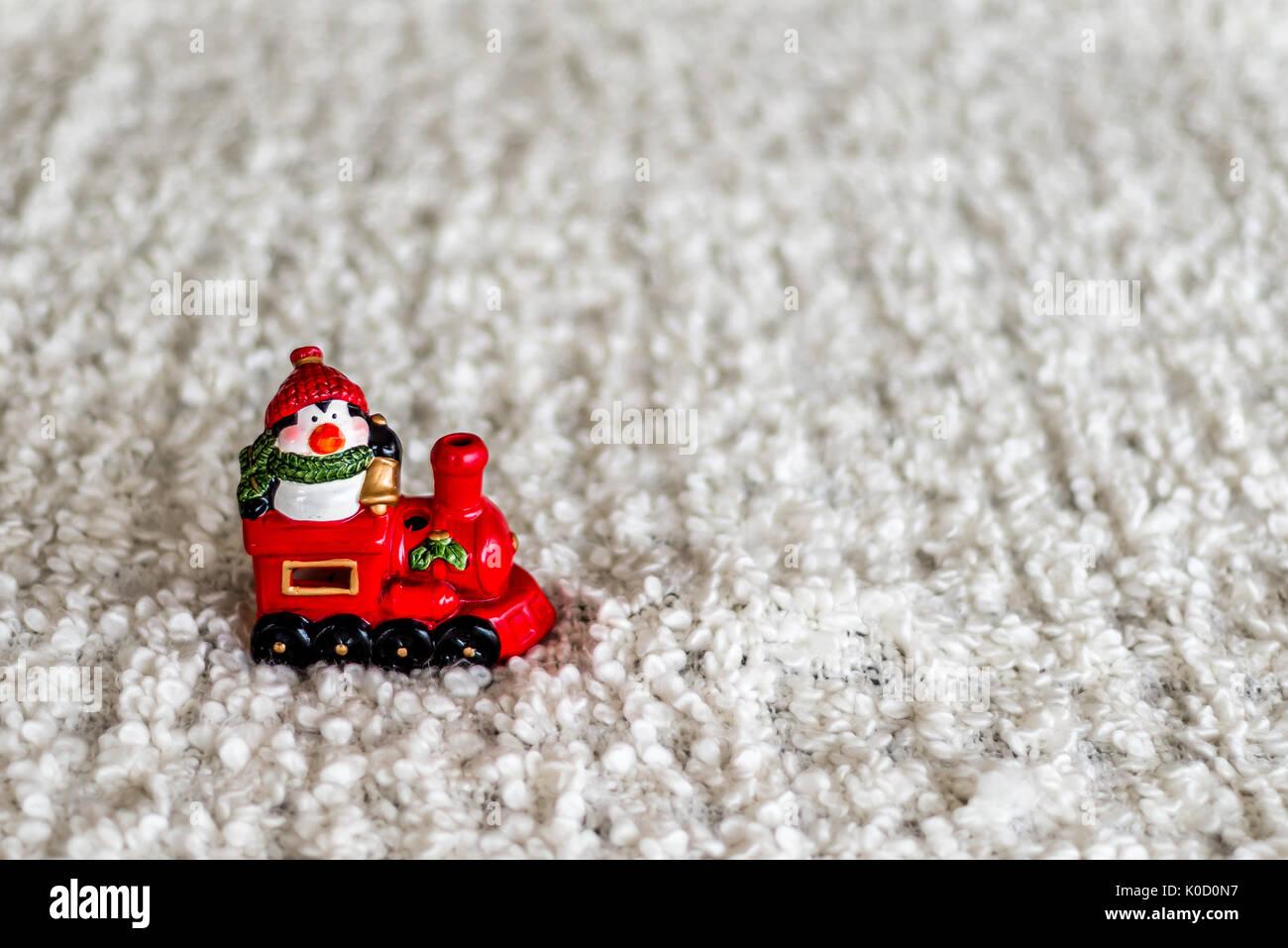 Wİnter avec mise en page de noël photophore Photo Stock
