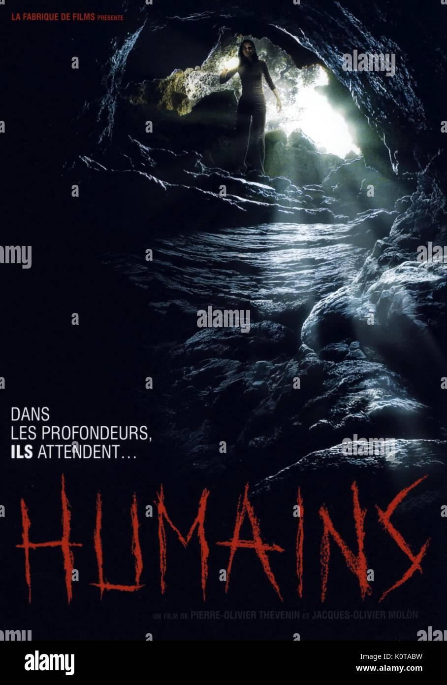 L'homme affiche de film; HUMAINS (2009) Photo Stock