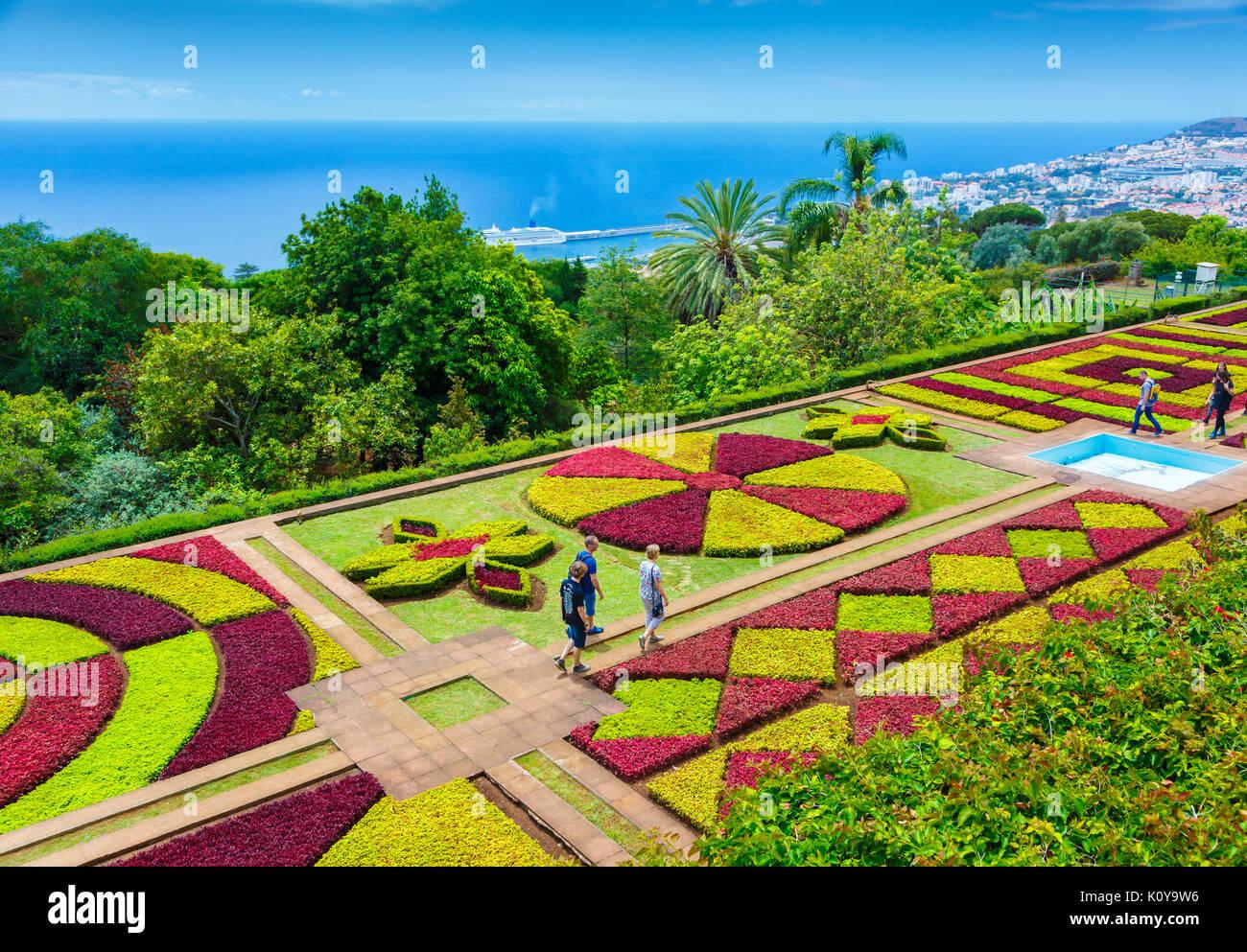 Jardin botanique de Madère. Photo Stock
