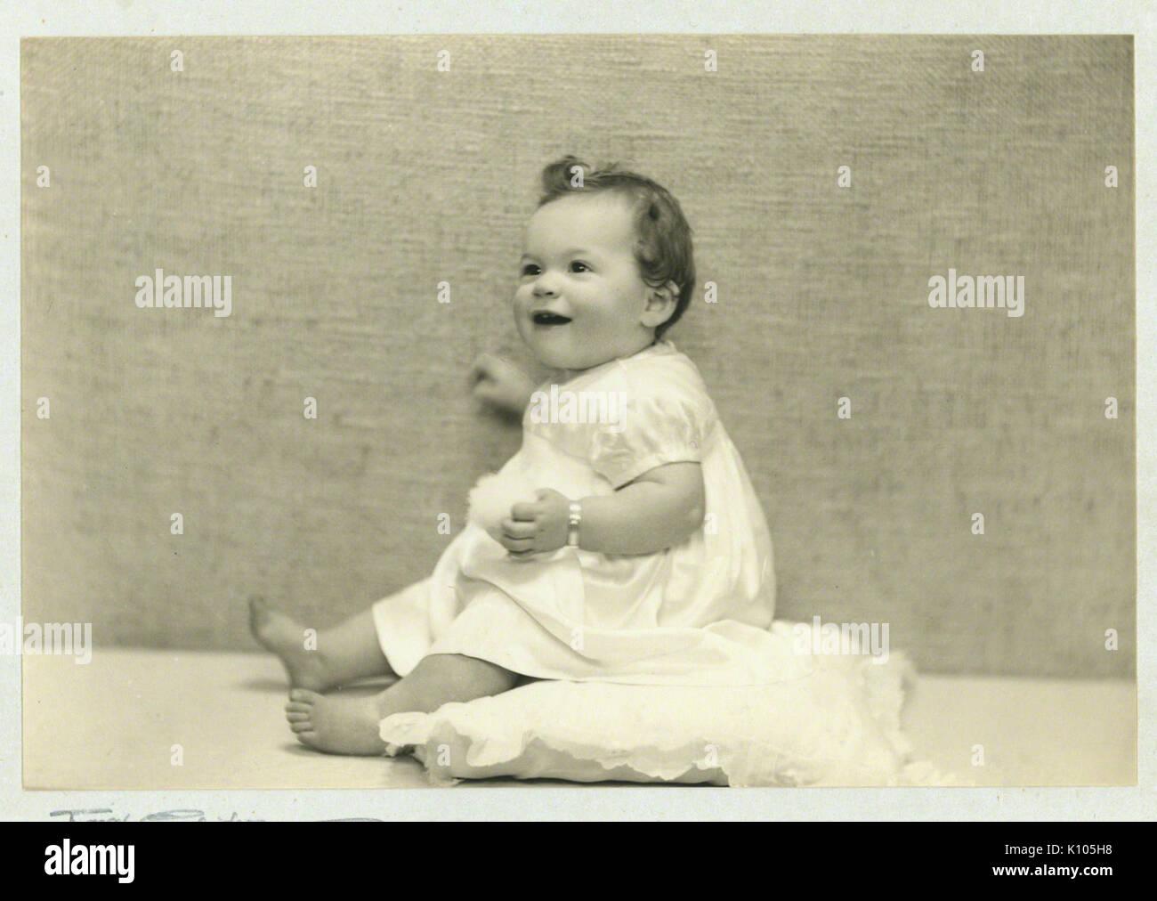 Bébé Alfie Fripp Photo Stock