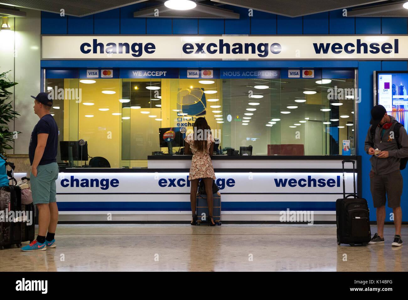Global exchange services de change bureau de change et client
