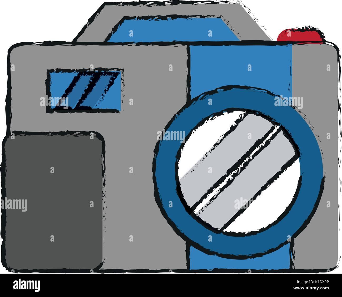 Illustration vecteur de l'appareil photo Illustration de Vecteur
