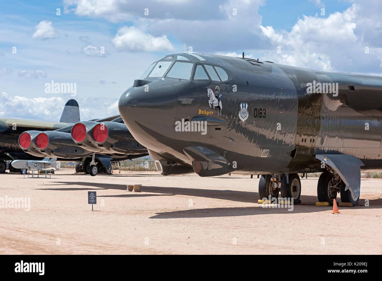 Boeing B-52G Stratofortress Bombardier, huit lourds à longue portée de l'arme nucléaire, de bombardiers transporteur, 1959-1994 Banque D'Images
