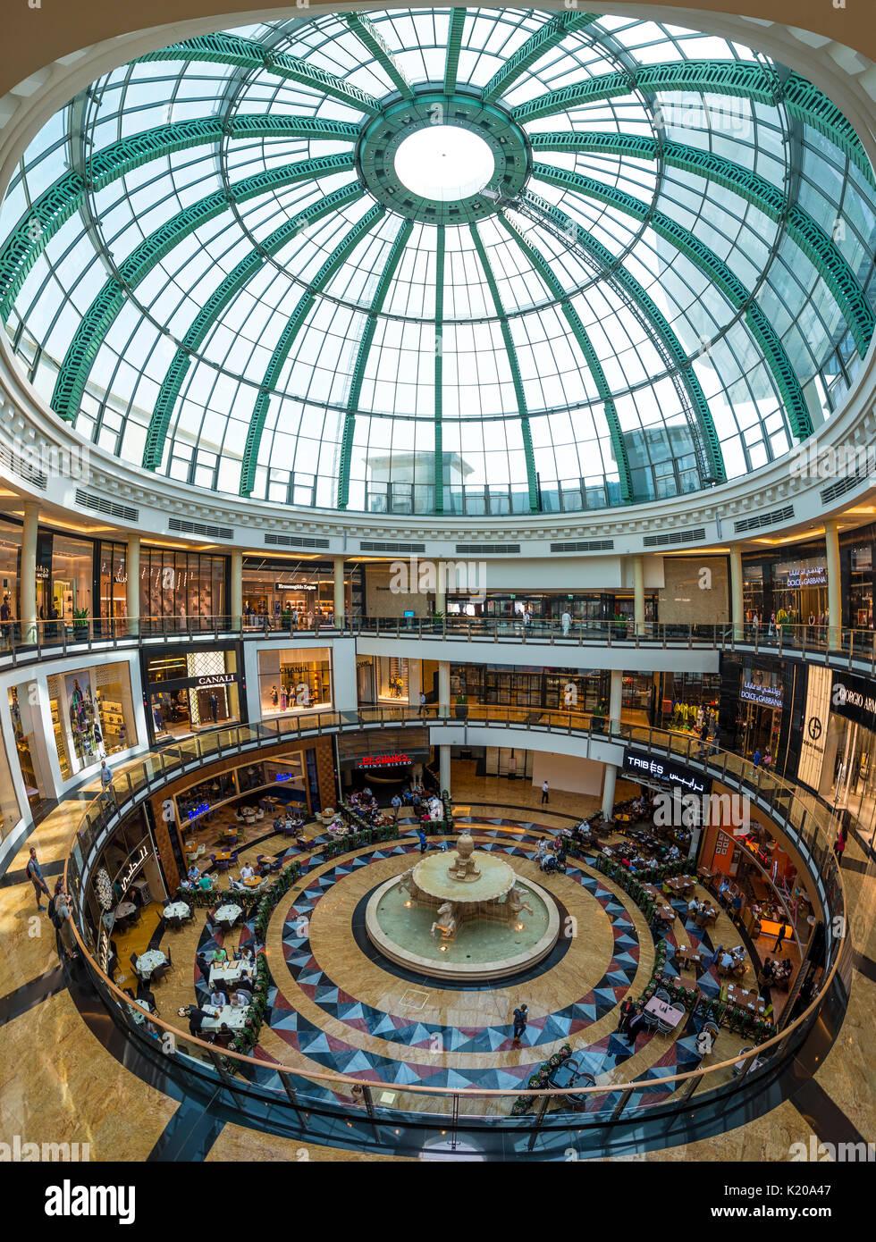 Centre commercial Mall of the Emirates, le centre commercial à Dubaï, Émirats Arabes Unis Banque D'Images