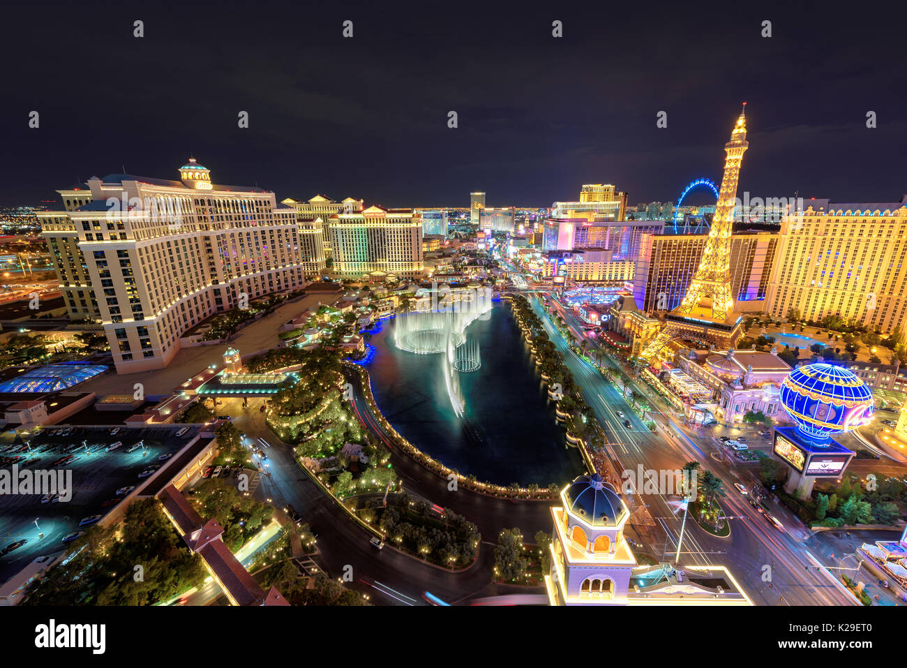 Las Vegas Strip Photo Stock