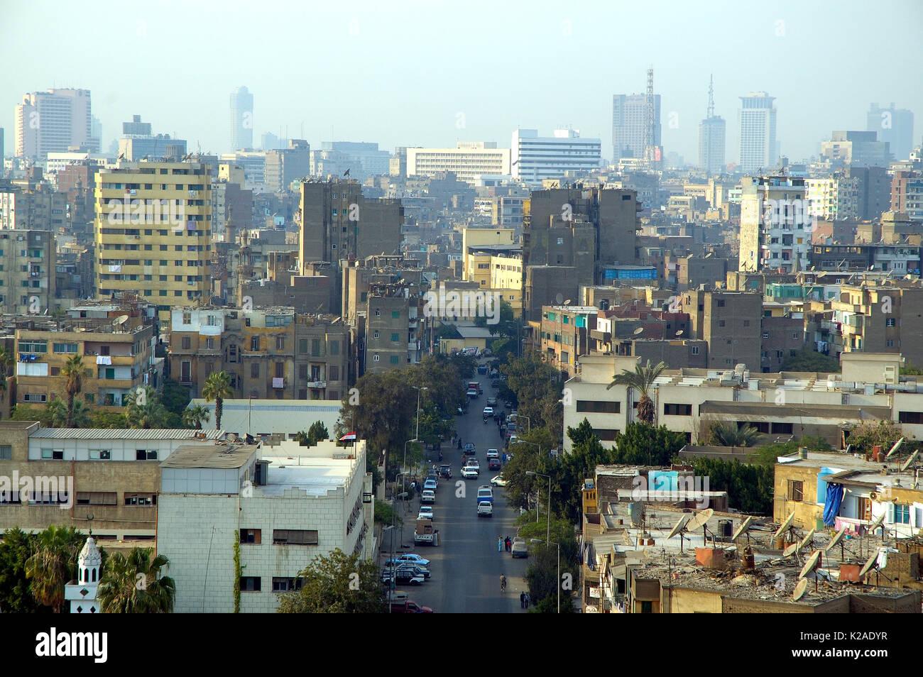 Le vieux Caire. L'Égypte Banque D'Images