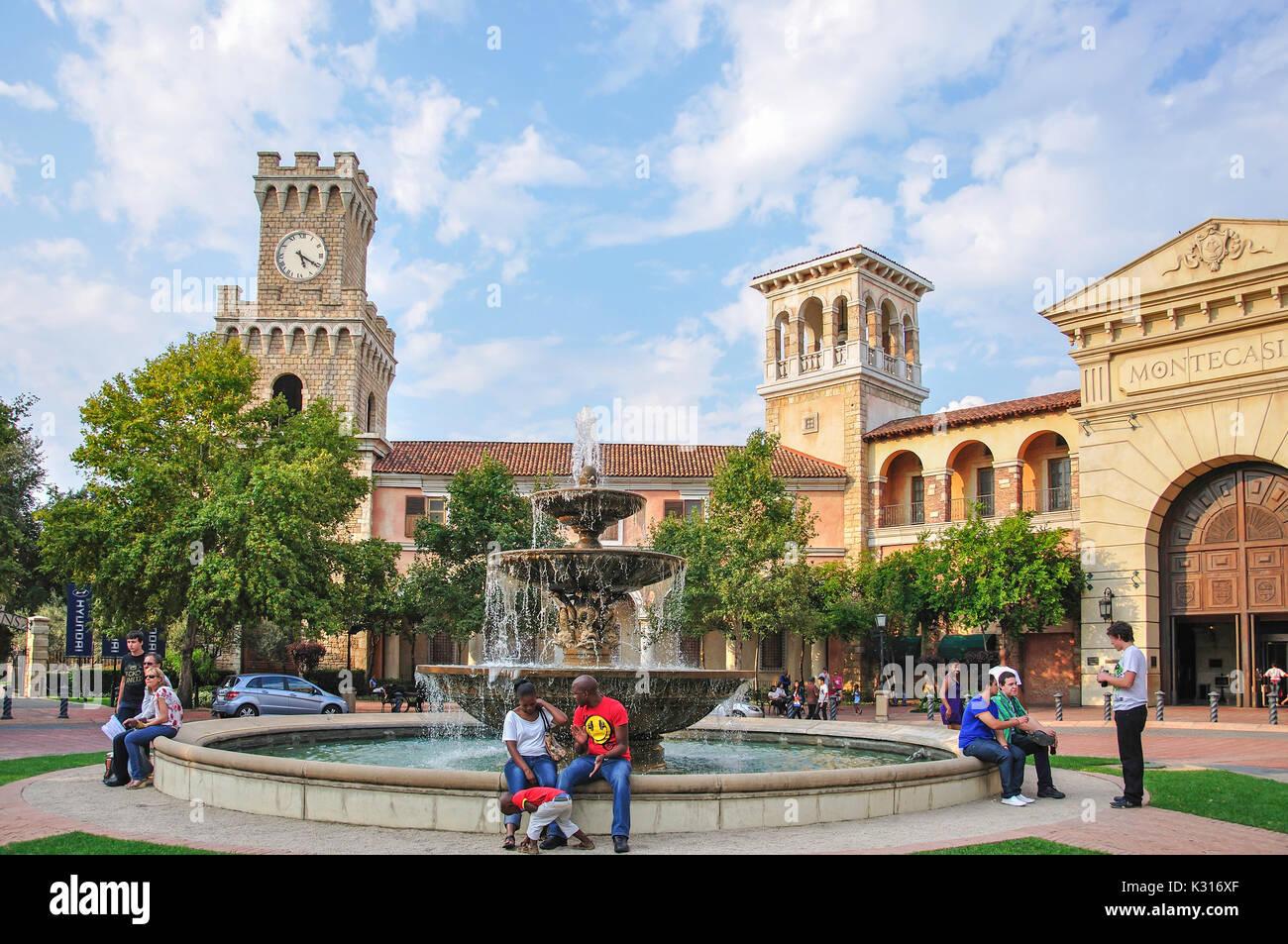 Montecasino Leisure & Casino, Fourways, Sandton, Johannesburg, Gauteng Province, République d'Afrique du Sud Photo Stock